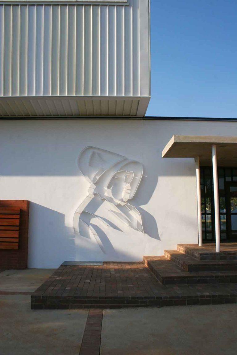 AHMP - Afrikaanse Hoër Meisieskool Pretoria - EC Steijn Hall - Kappie