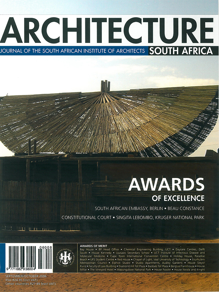 Arch SA September October 2006