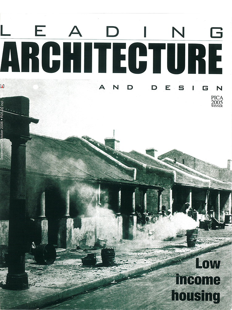 Leading Architecture and Design 2006