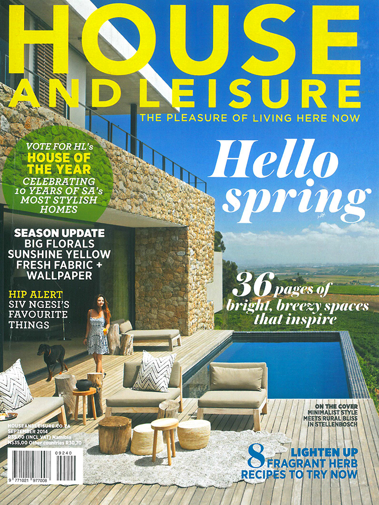 MAAA - Publications - House and Leisure September 2014