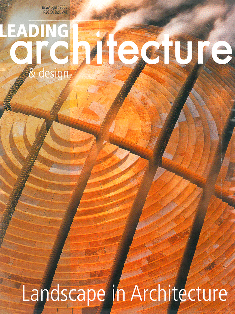 MAAA - Publications - Leading Architecture July August 2003