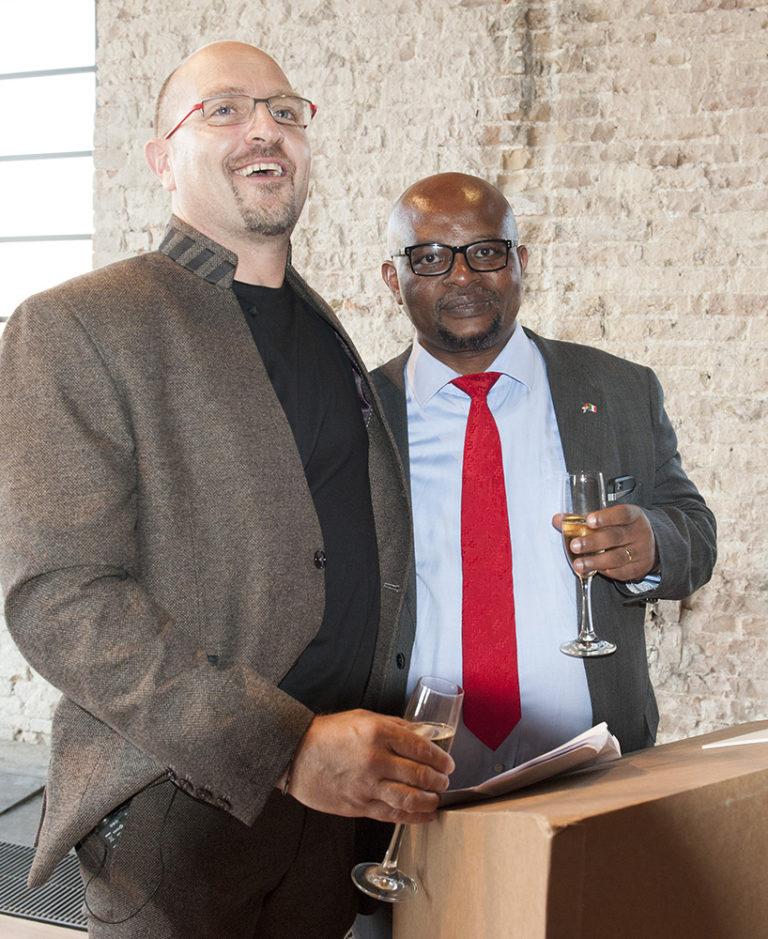 Pieter + Celebrities - Saul Kgomotso Molobi