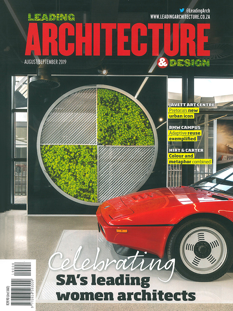 MAAA - Publications - Leading Architecture - Aug Spet 2019